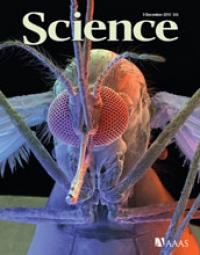 Cover of the Dec. 9, 2011 Issue of the Journal <I>Science</I>