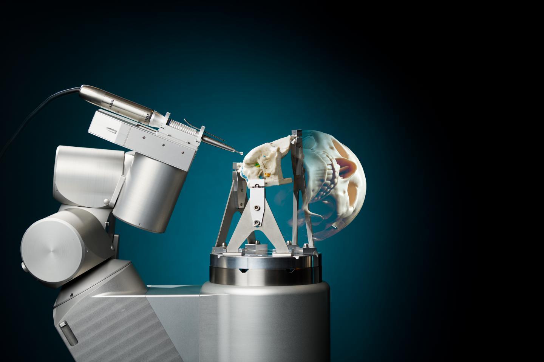 Skull Bone Surgery Robot