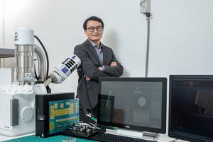 Dr Ma Junzhang from City University of Hong Kong