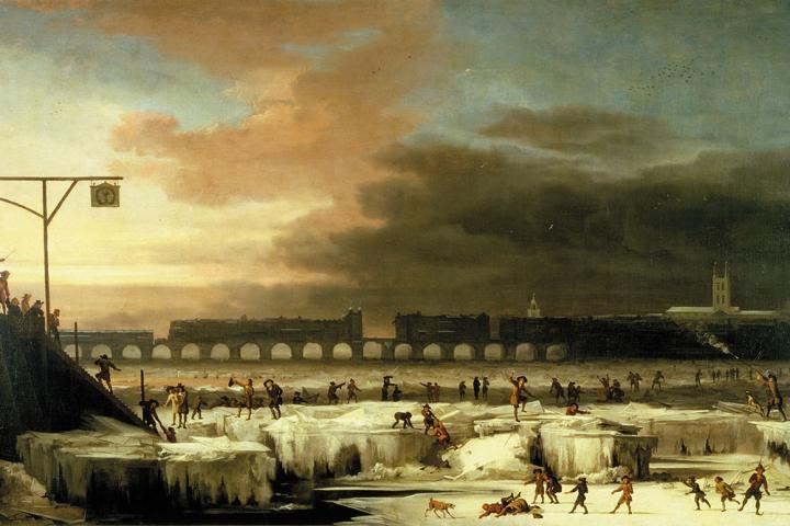 The Frozen Thames