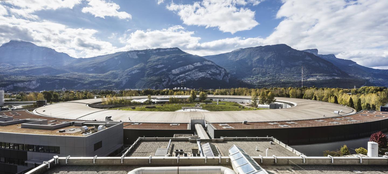 View of the ESRF, the European Synchrotron