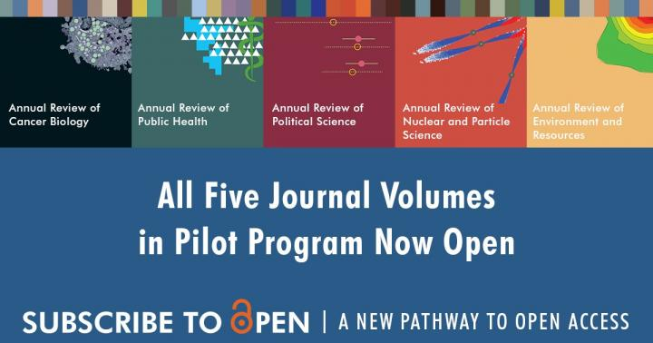 Pilot OA program generates widespread support from institutional subscribers