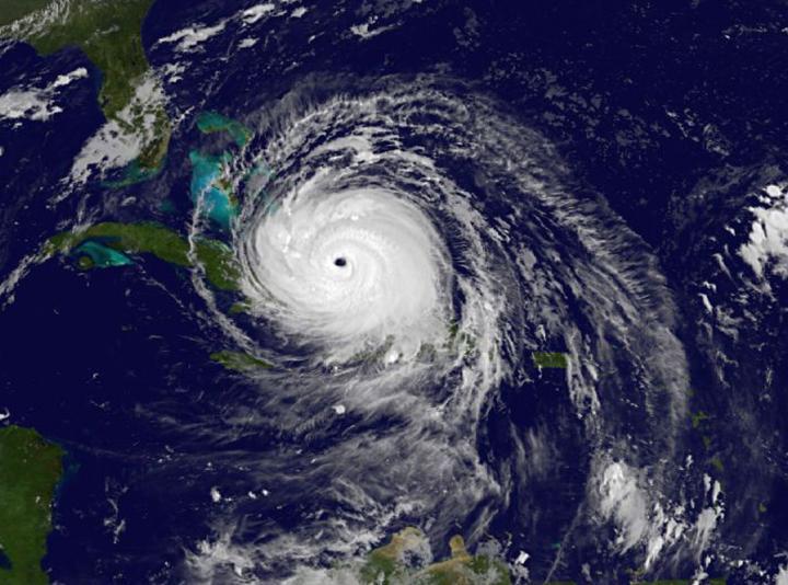 GOES-East image of Irma