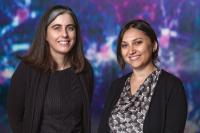 Nicola Allen and Isabella Farhy-Tselnicker, Salk Institute