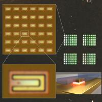 Optical Micrographs of Plasmonic Gap Resonators