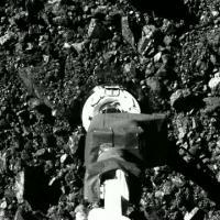 OSIRIS-REx Aftermath of Sample Collection at Asteroid Bennu: SamCam View