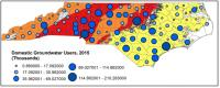 Groundwater Use Map for NC
