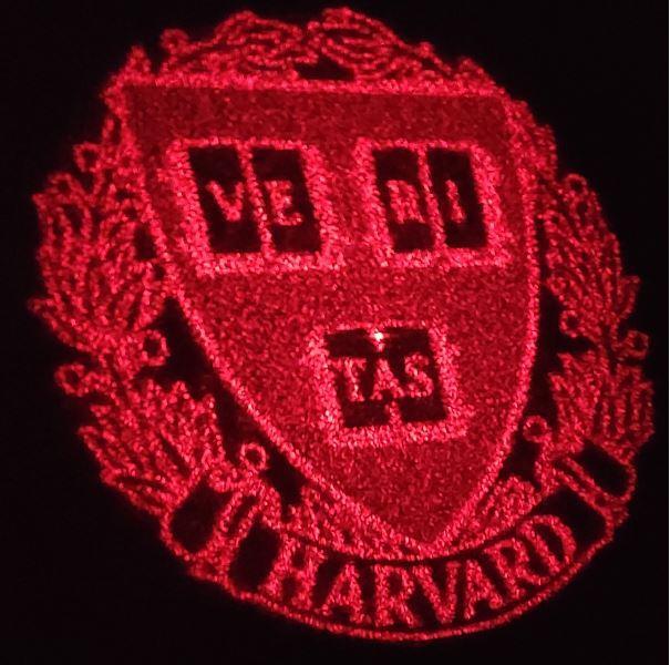 Laser Harvard Shield