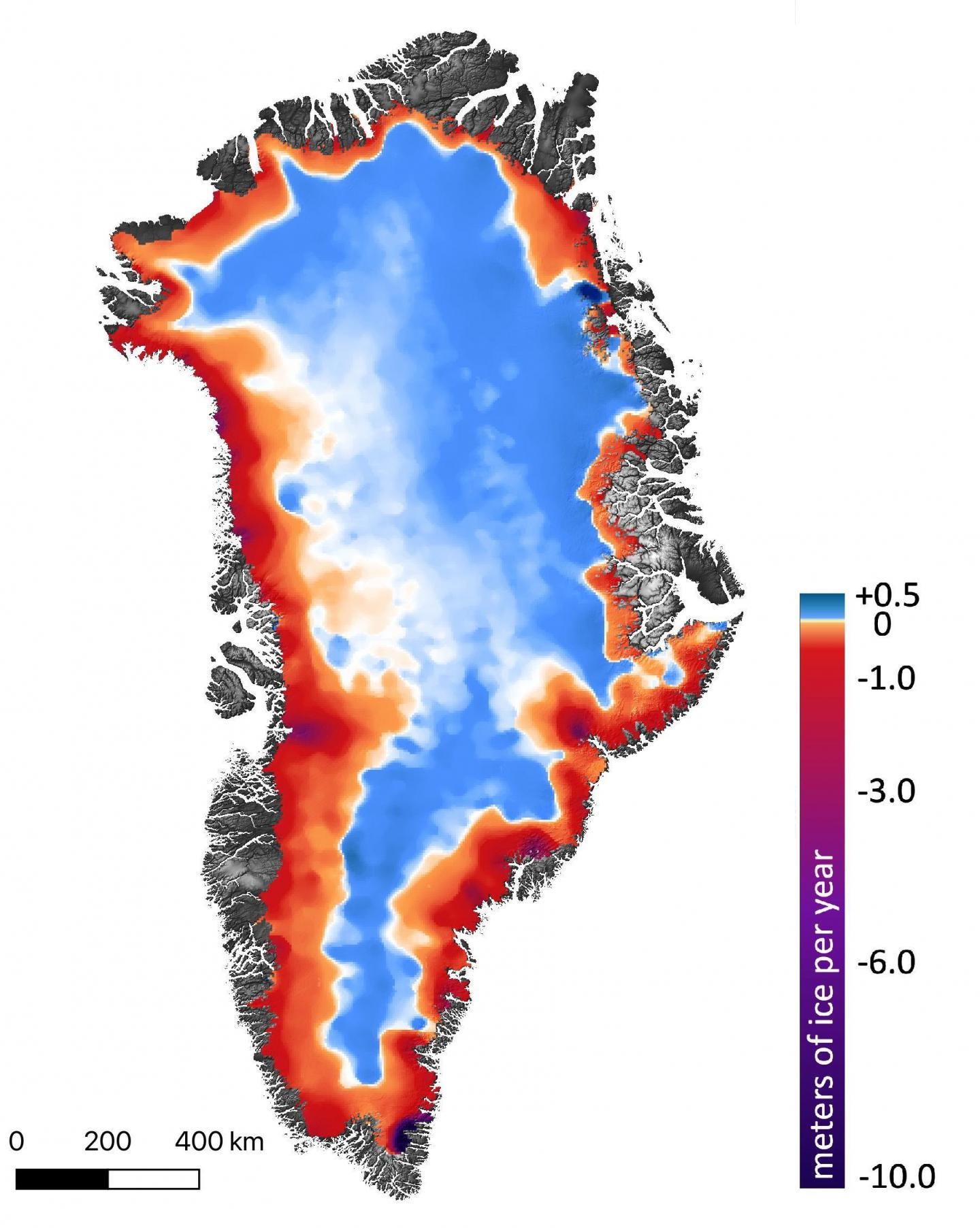 Greenland Ice Changes