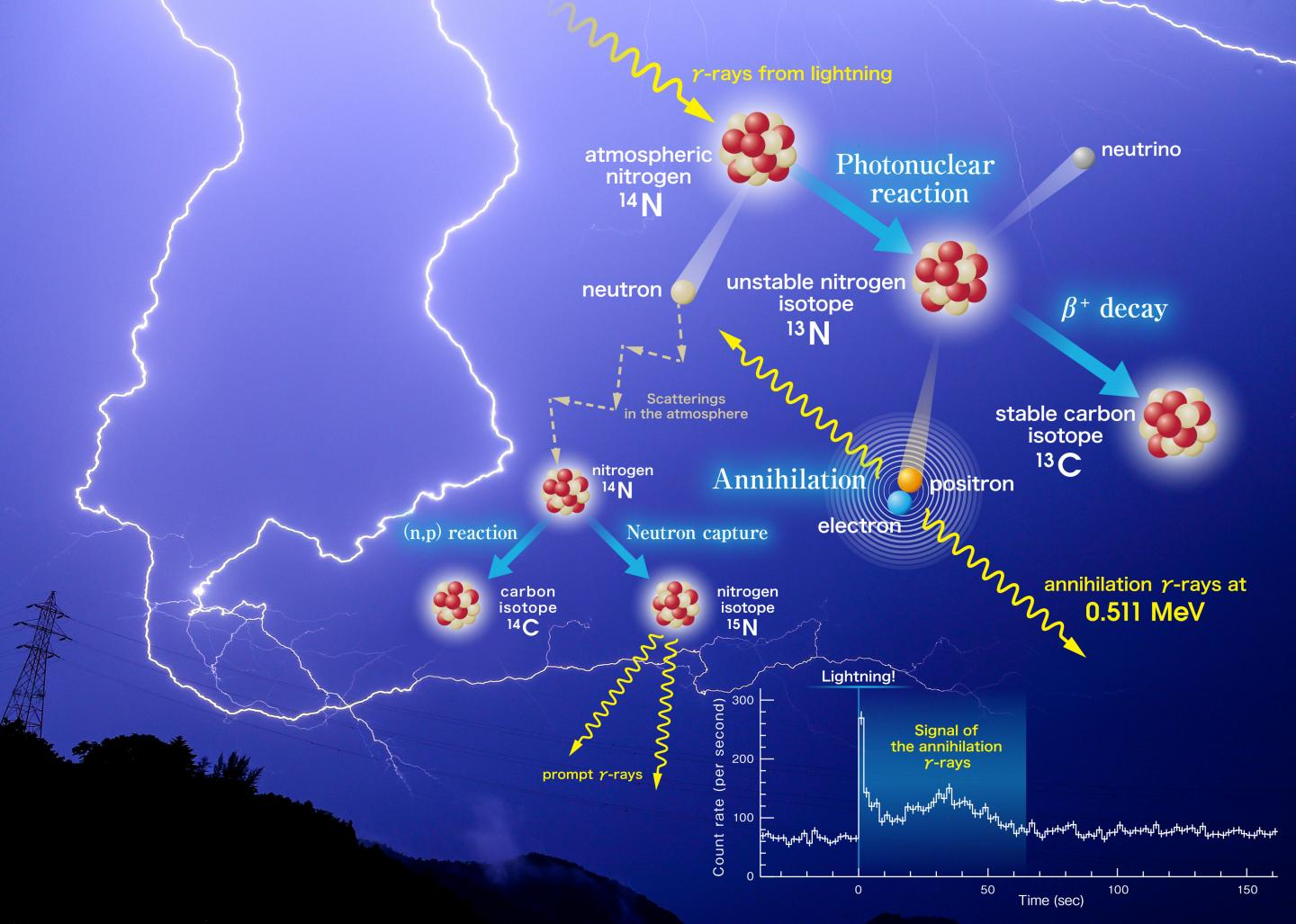 Antimatter in Thunderstorms?