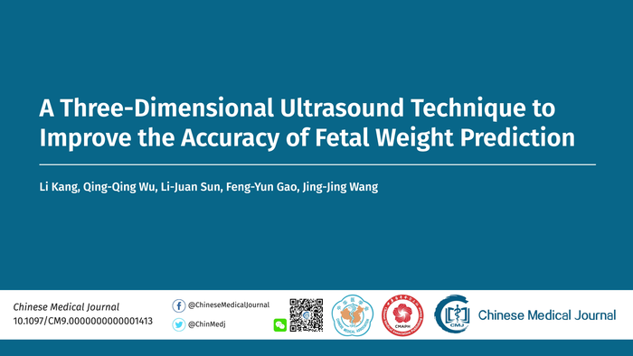 A Three-Dimensional Ultrasound Technique to Improve the Accuracy of Fetal Weight Prediction