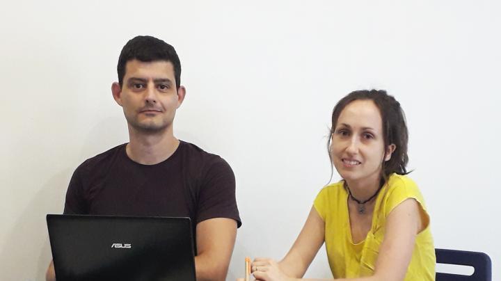 Dr. Franc Llorens and Dr. Anna Villar-Pique