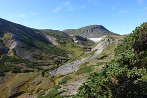 Daisetsu Mountains in Hokkaido, Japan