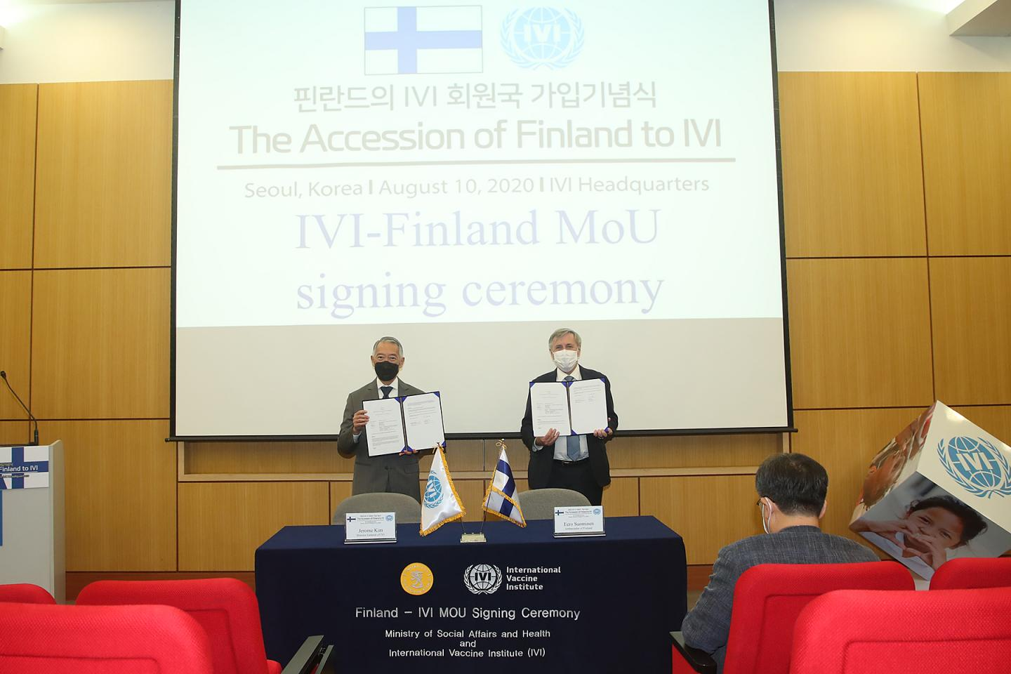 Finland Joins IVI as 36th Member State