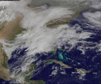 GOES-East Image of March 2017 Snowstorm