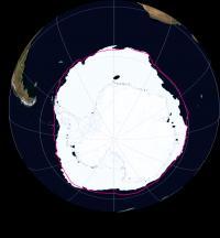 Antarctic Sea Ice Extent November 2016