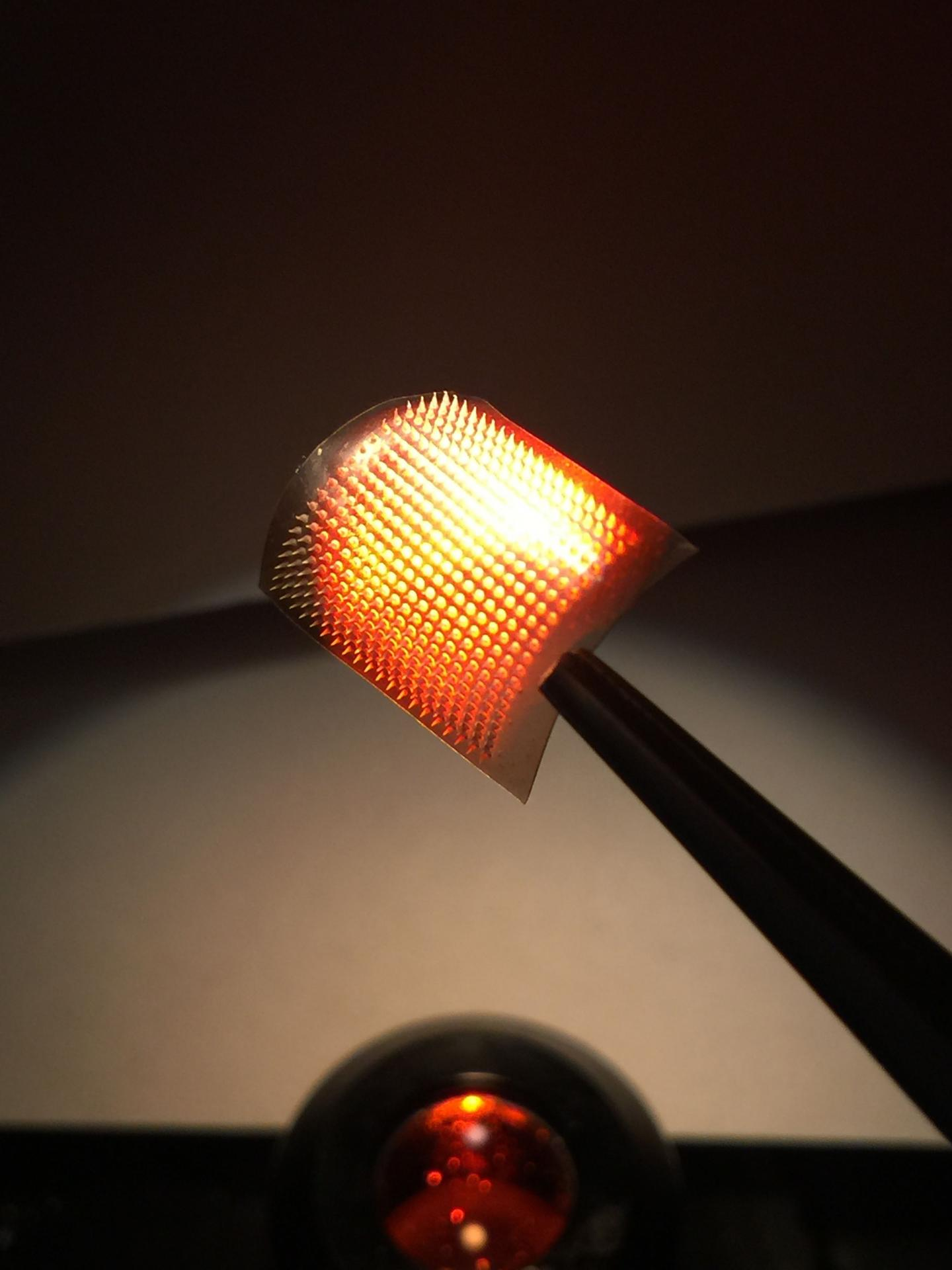 Light-Responsive Cancer Immunotherapy Patch