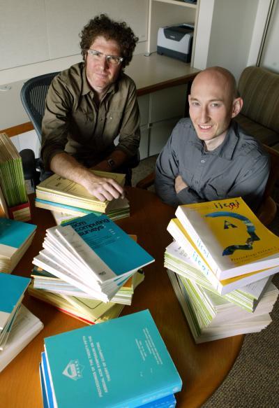 David Blei and Sean Garrish, Princeton University, Engineering School