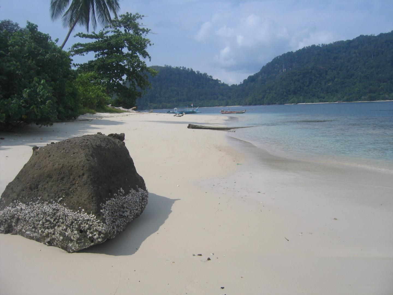 Beach at Padang