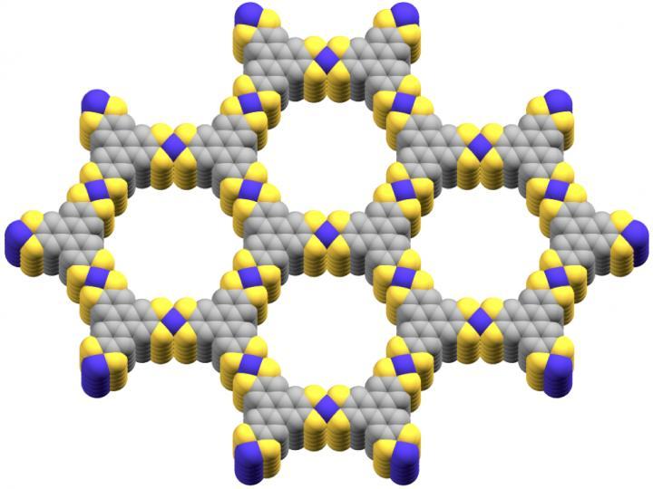 A Conductive Metal-organic Framework