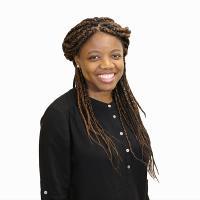 Elaine Nsoesie, a Hariri Institute Faculty Fellow and Assistant Professor in the BU School of Public Health