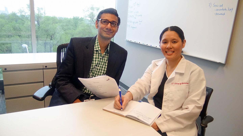 Babar Khan, MD and Sophia Wang, MD, Regenstrief Institute