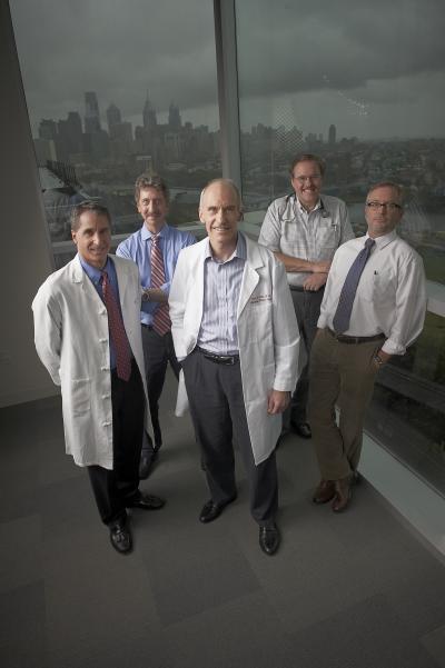 David Porter, Bruce Levine, Carl June, Stephan Grupp, and Michael Kalos, Penn Medicine