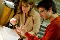 Sara Helms Cahan and Michael Hermann, University of Vermont