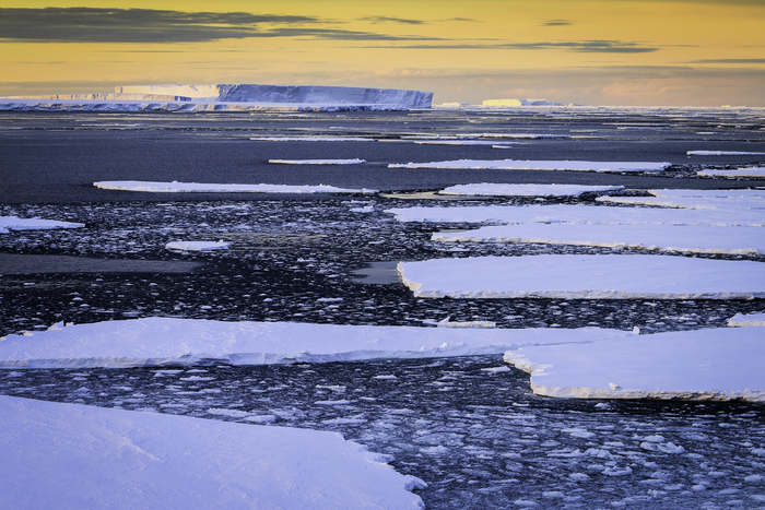 Ice in the Weddell Sea