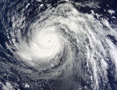 MODIS Image of Lekima