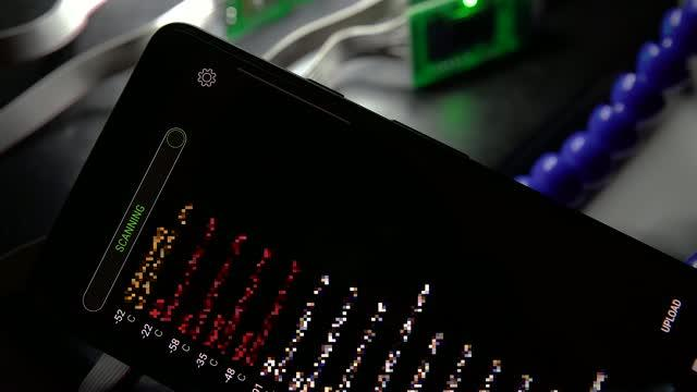 Phone with Skimmer App and Skimmers