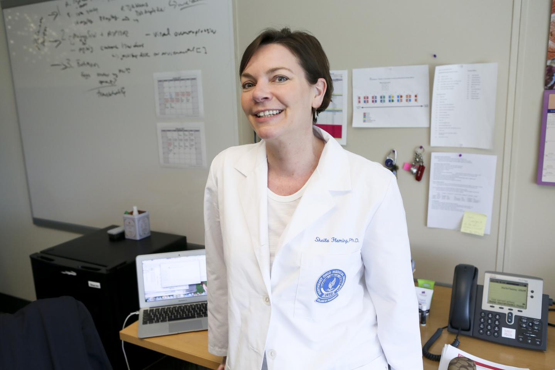 Sheila Fleming, Ph.D., Assistant Professor of Pharmaceutical Sciences