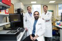 The Research Team in the Lab