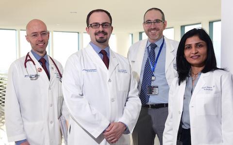 Dr. James Brugarolas, Dr. Isaac Bowman, Dr. Ivan Pedrosa, and Dr. Payal Kapur