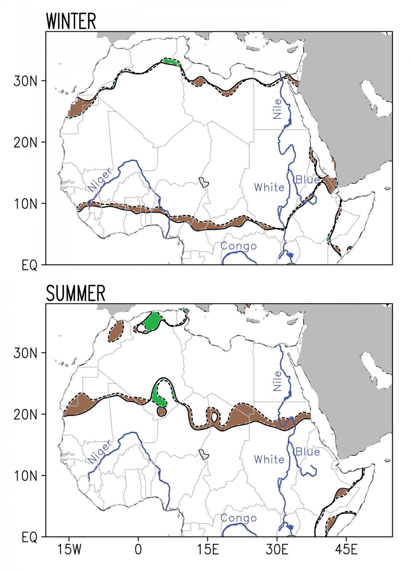 Sahara Expansion 1920-2013