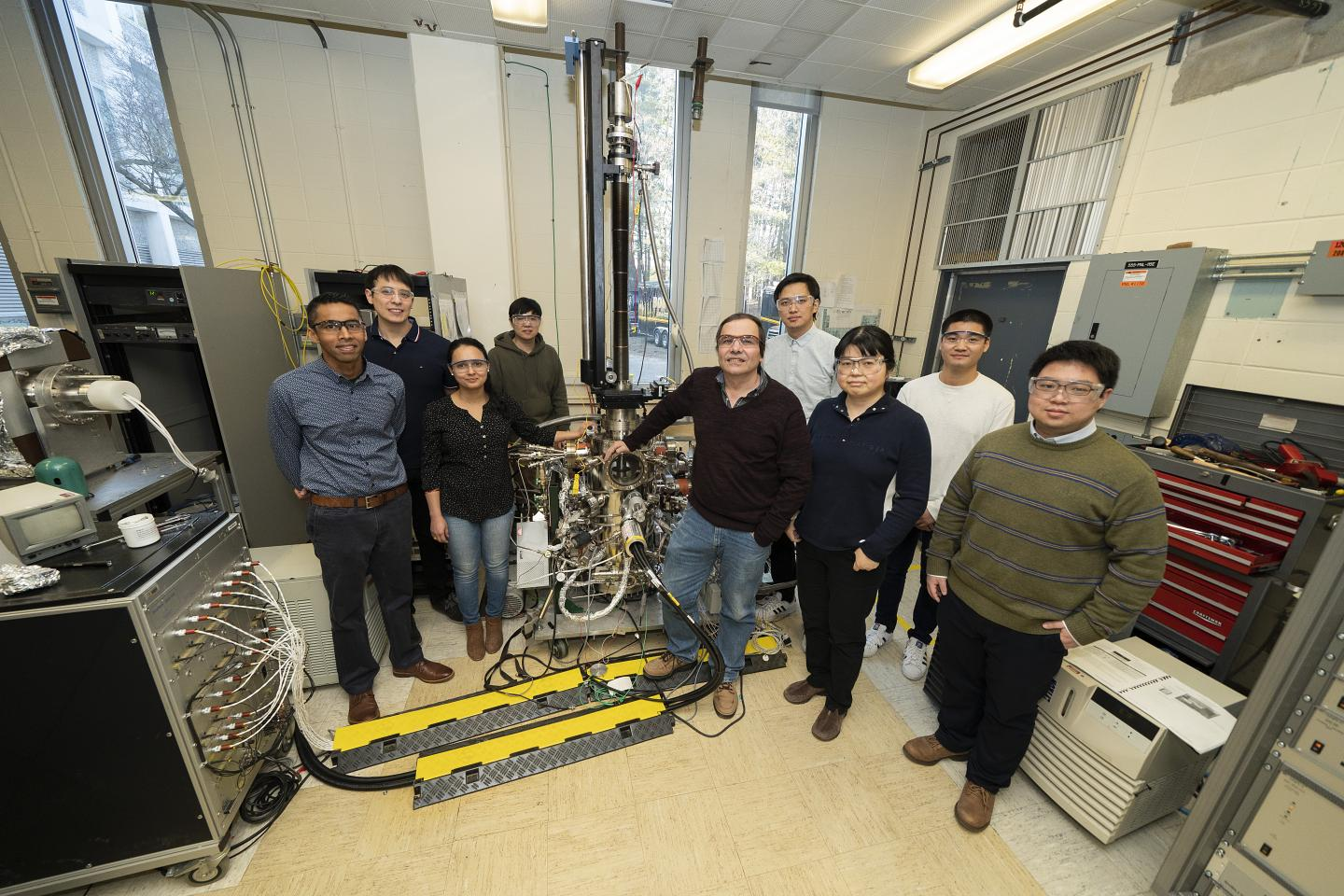 Research Team at Brookhaven Lab
