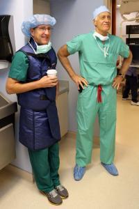 Dr. Charles Lambert and Dr. Leslie Miller, STOP-HF Trial