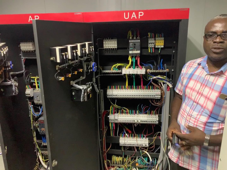 University of Ghana's network operations center