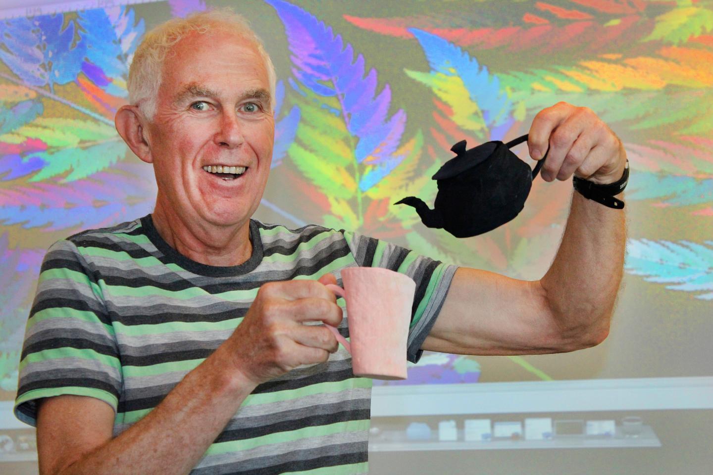 Barnsley's Fractal Teapot