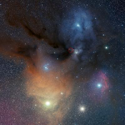 Rho Ophiuchi Star Formation Region