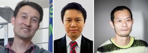 Yuki Kimura, Kazuo Yamamoto, and Shigeru Wakita