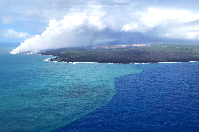 Volcanic Eruption Leads to Unusual Algae Bloom