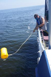 Gathering Water and eDNA Samples
