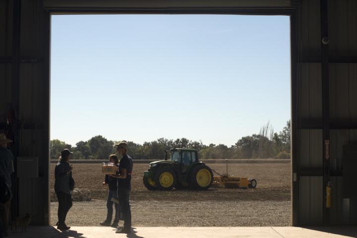Russell Ranch Soil Class at UC Davis