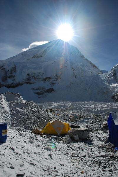 Gianfranco Parati's Tent at Everest Base Camp