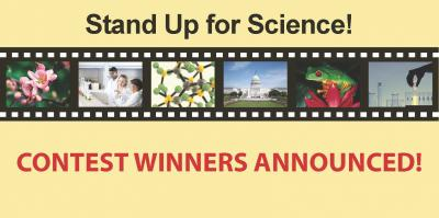 Stand Up for Science Video Competition Winners Announced