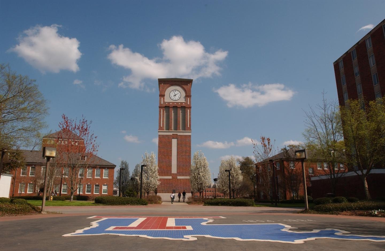 Centennial Plaza, Louisiana Tech University