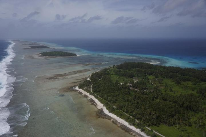 Coral reefs, Kwajalein Atoll, Republic of the Marshall Islands