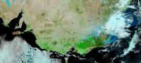 Suomi NPP Reflective Bands Show Burned Areas of Australia