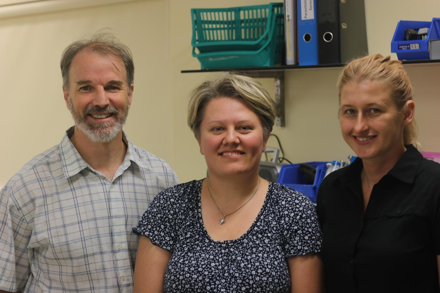 Three Members of the JCU One Health Research Team